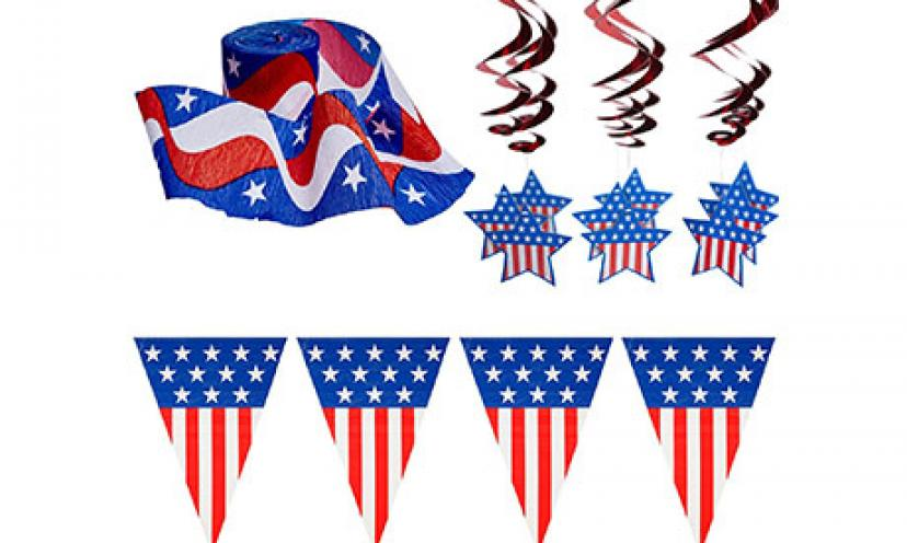 Save 43% on a Patriotic Decoration Pack!