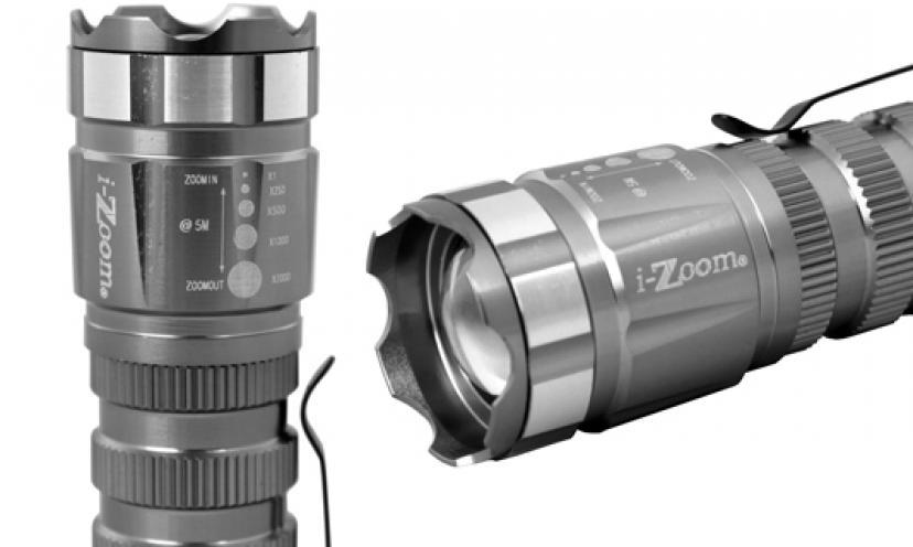 Adjustable Beam Cree XPG Flashlight