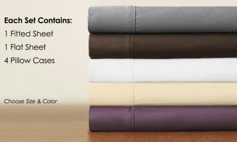 Regal Comfort Designer Collection 1600 Series Sheets