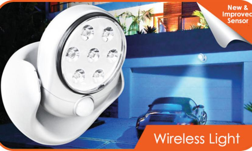 Motion Activated/Light Sensor Cordless Light (Indoor/Outdoor)