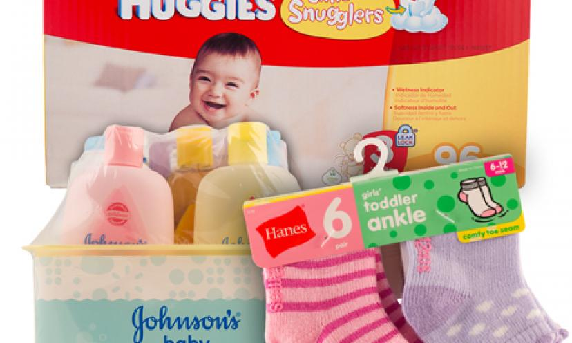 Samples of Your Favorite Essential Baby Products For Free!