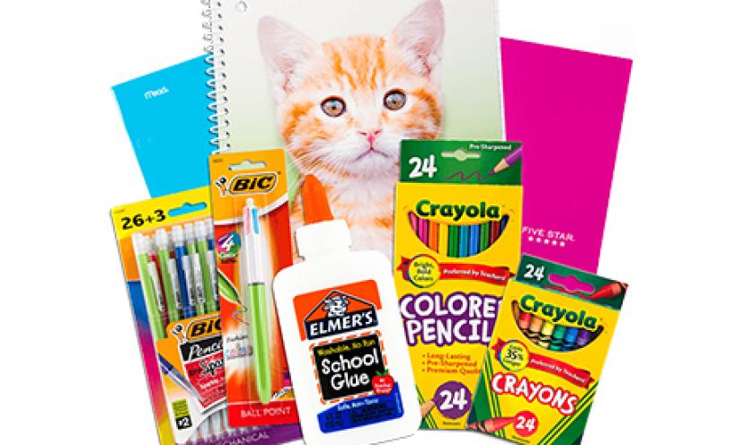 Free School Supplies!