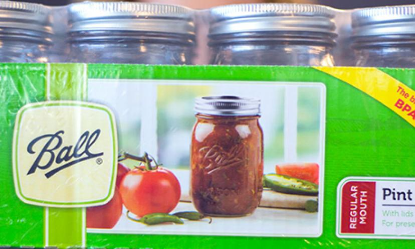 Get your FREE Ball Pint Jars!