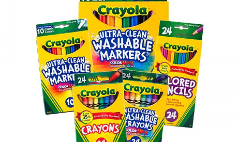 Free Crayola Samples!
