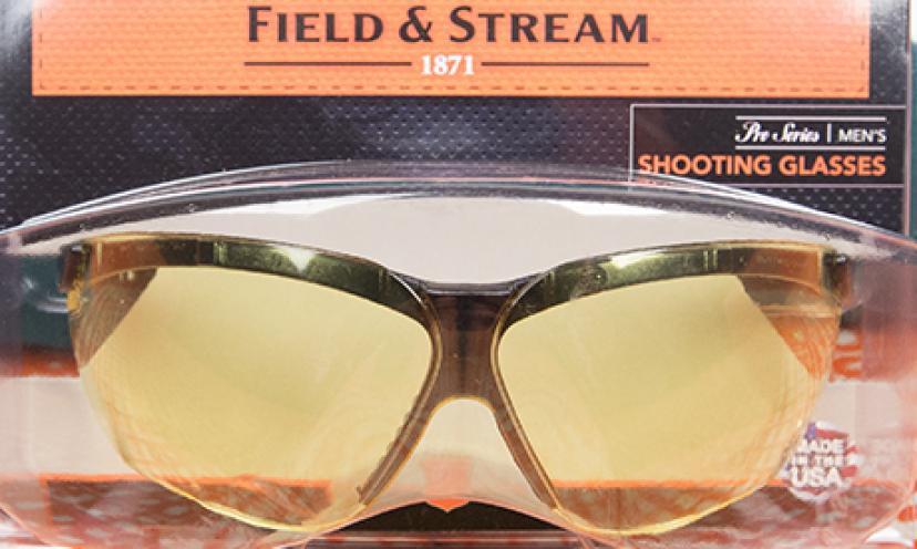 Get your FREE Field & Stream shooting glasses!