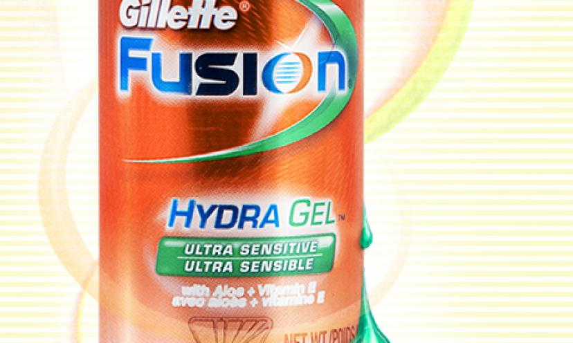 Free Sample of Gillette Fusion Hydra Gel!