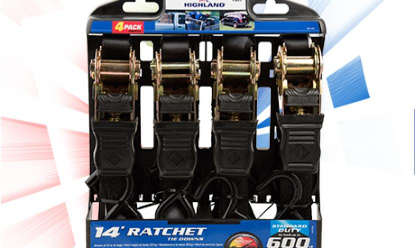 Get your Free Highland Ratchet Straps!