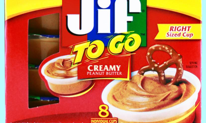 Get a Free Sample of Jif To Go!
