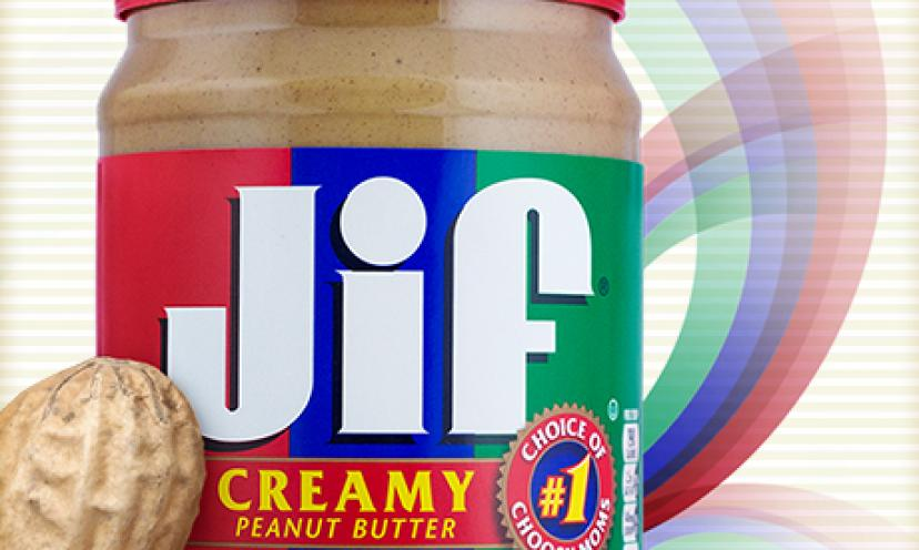 Get a free sample of JIF peanut butter!