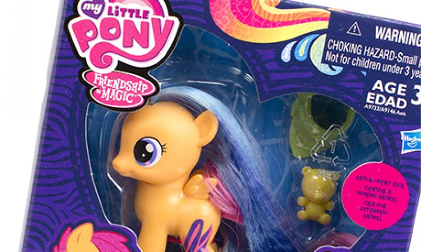 Get your Free My Little Pony toy!