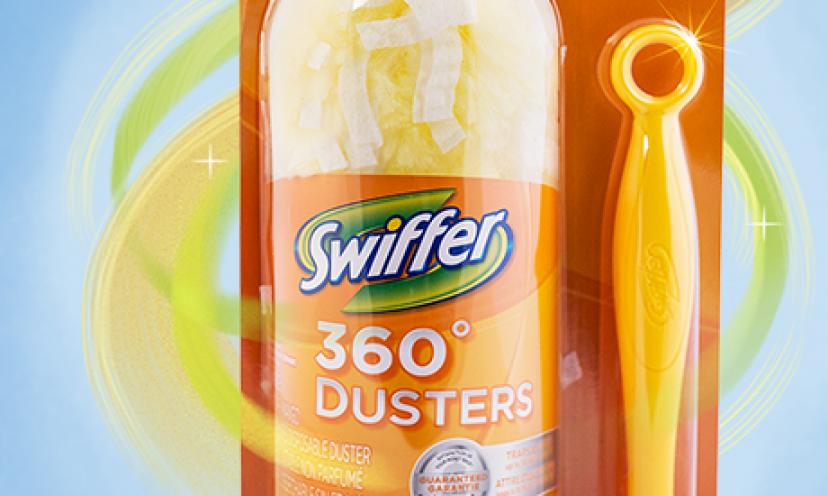 Get a Free Swiffer 360 Duster!