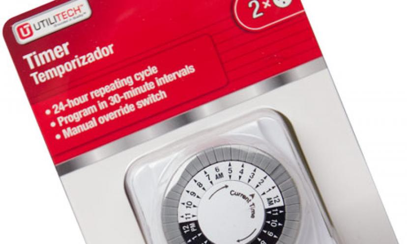 Get Your Free Utilitech Timer!
