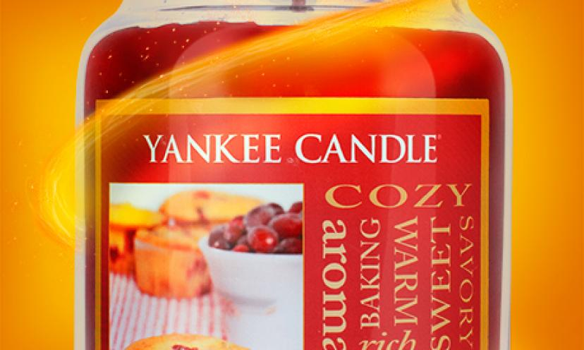 Get a Free Yankee Candle!