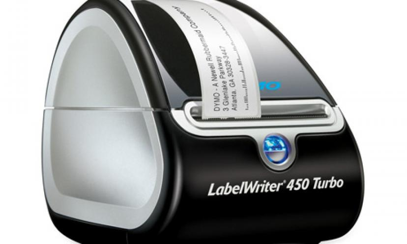 Get 38% Off the DYMO LabelWriter Turbo Thermal Label Printer!