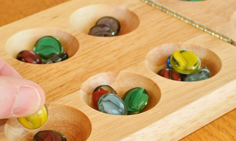 Get Ready for Game Time – Save 17% on Mancala!