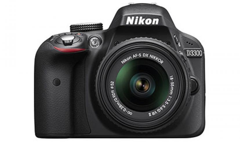 Save Over $200 Off The Nikon D3300 Digital SLR Camera!