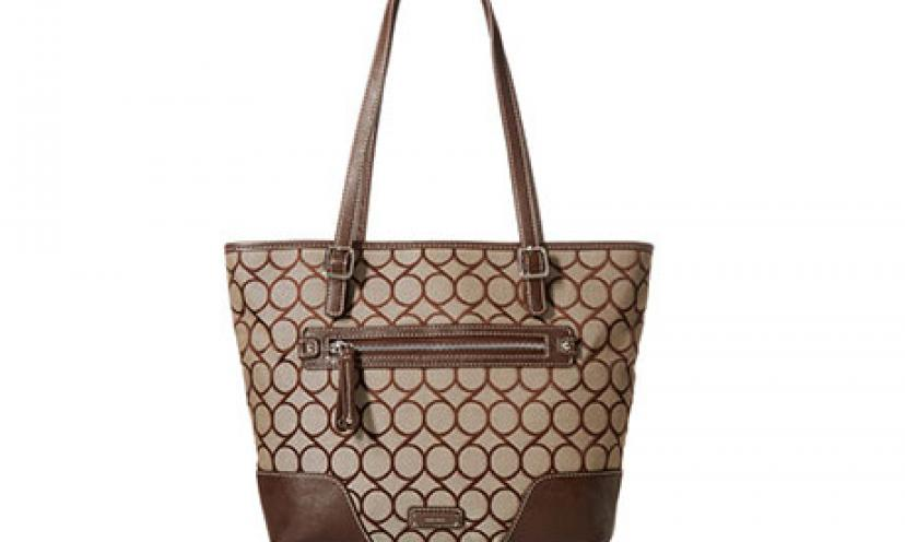 Save 49% Off The Nine West 9S Jacquard Tote Bag!