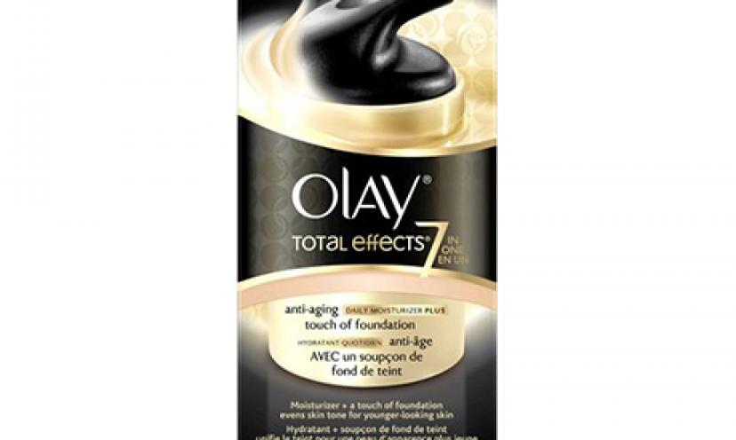 Save Huge on Olay Total Effects Refreshing Citrus Scrub!