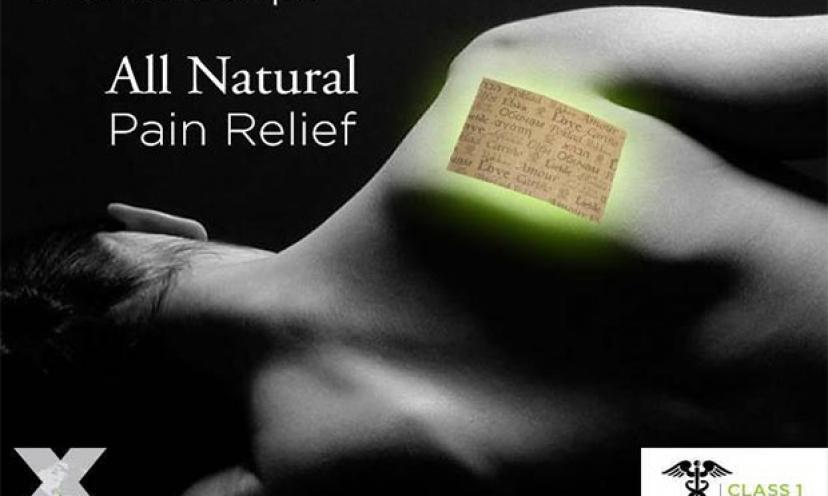 Restore your life energy with free samples of FG Pain Power Strip!