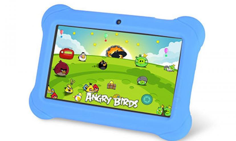 Save 75% Off on the Orbo Jr. 4GB Android 4.1 Tablet PC – Kids Edition!