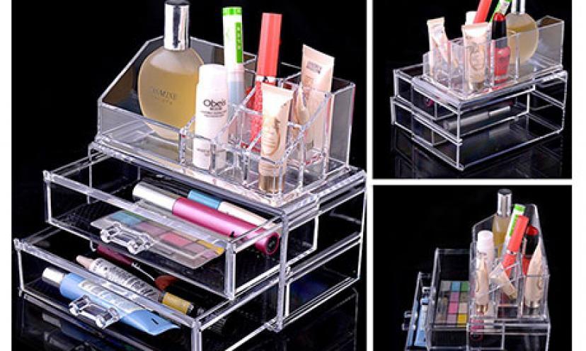 Get 40% Off on Ohuhu Makeup Cosmetics Organizer!