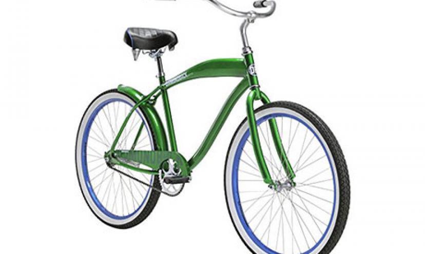 Save $100.02 on Diamondback Bicycles Men's 2015 Drifter Complete Cruiser Bike!