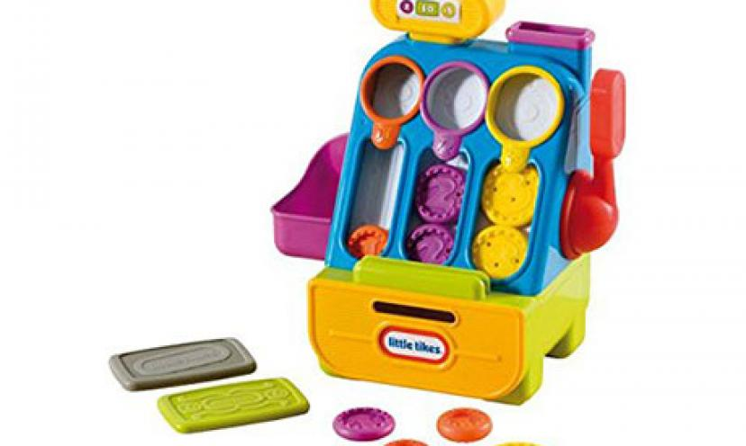 Save 18% on Little Tikes Count 'n Play Cash Register!