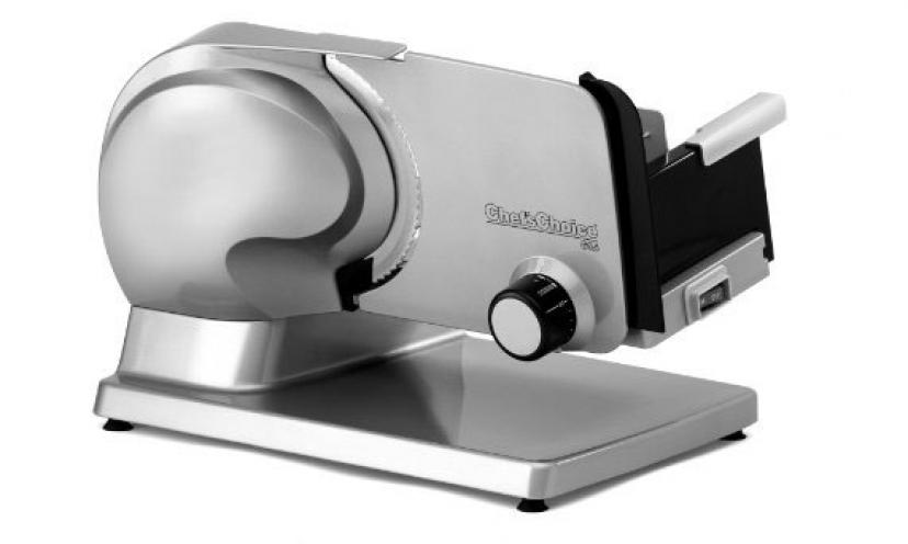 Save 44% Off the Chef's Choice Premium Electric Food Slicer!