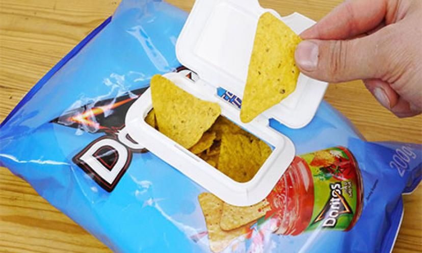 Learn How To Reseal Chip Bags With This Life Hack!