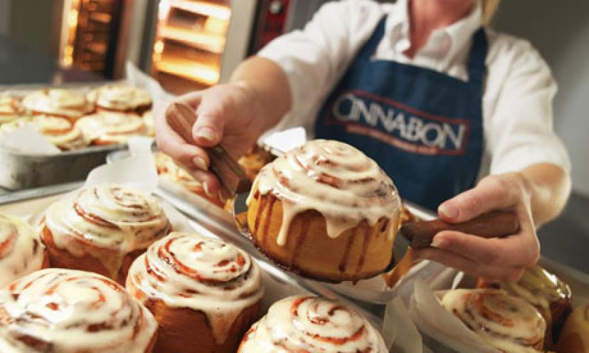 Join Club Cinnabon And Score A FREE Minibon Cinnamon Roll!