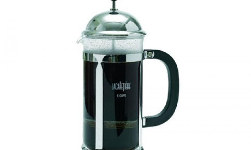 Get the La Cafetiere Optima Coffee Press for 38% Off!