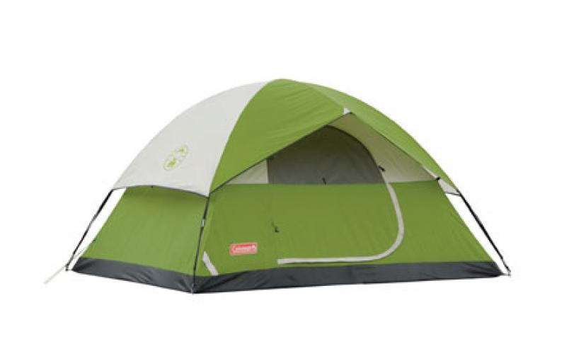 Save 20% on the Coleman Sundome 4-Person Tent!