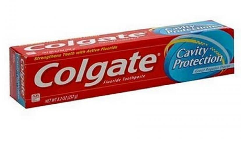 Save on Colgate Cavity Protection Fluoride Toothpaste!