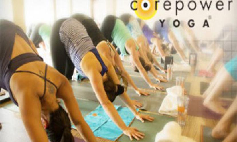 Get A FREE Week Of Yoga At Corepower Yoga!