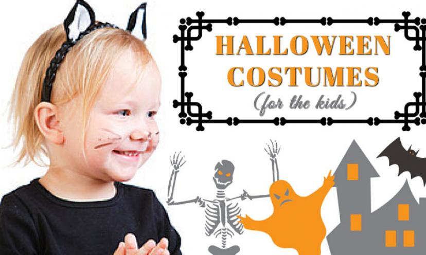 11 Last Minute Halloween Costumes for the Kids!