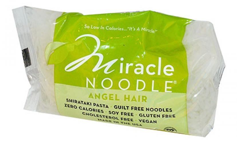 Save 10% off on Calorie Free Miracle Noodles!