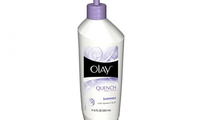 Earn $1.00 Off One Olay Hand & Body Lotion!