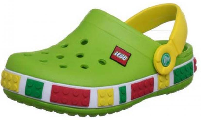 Save 54% on Crocs Crocband Lego Backstrap Clog!