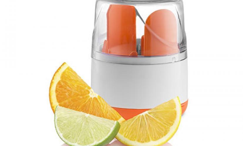 Save 53% on a Kitchen Gizmo Citrus Slicer!