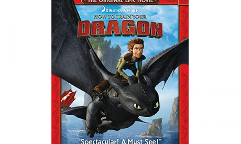 Watch How to Train Your Dragon in Blu-ray for 60% Off!