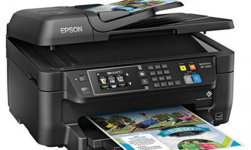Save 40% on the Epson WorkForce All-In-One Wireless Color Printer!