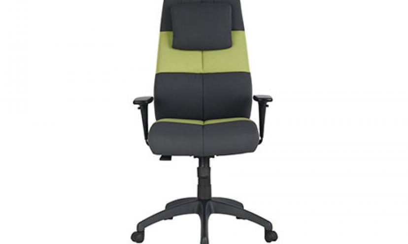 Get $220 Off on VIVA OFFICE Fashionable High Back Chair!