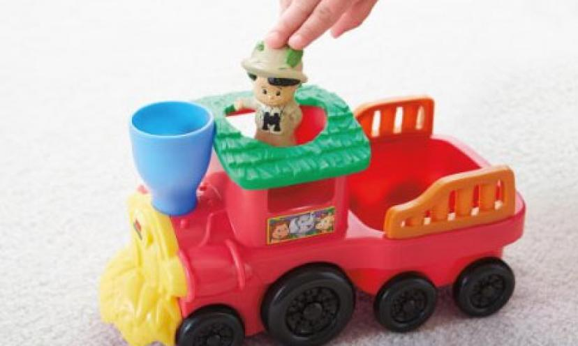 Save on The Fisher-Price Animal Zoo Train!