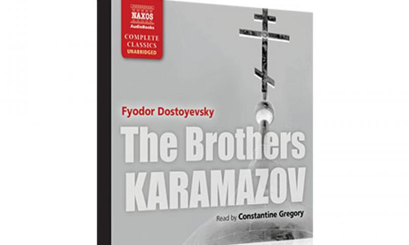 """Get a FREE """"The Brothers Karamzov"""" Audio Book Download!"""