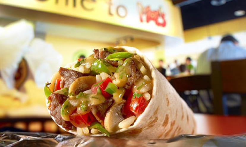 Get a Free Burrito from Moe's Southwest Grill!