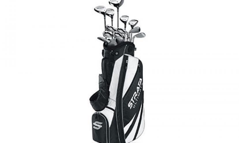 Save $125 on Callaway Men's Strata Complete Golf Set!