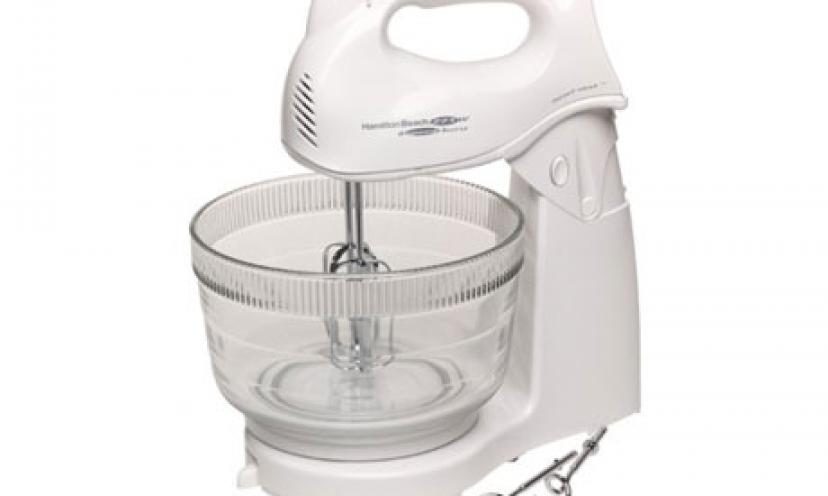 Get 32% Off on the Hamilton Beach Power Deluxe Stand Mixer!