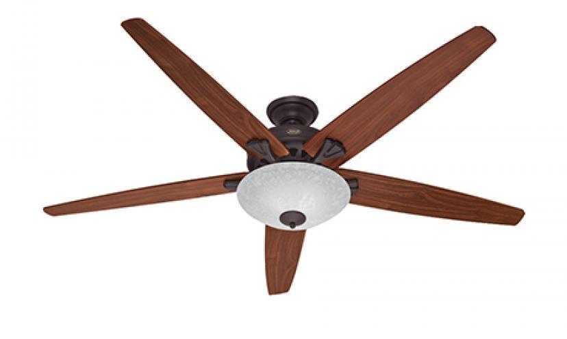 Save $187.20 on Hunter Fan Company Stockbridge 70-Inch Ceiling Fan!