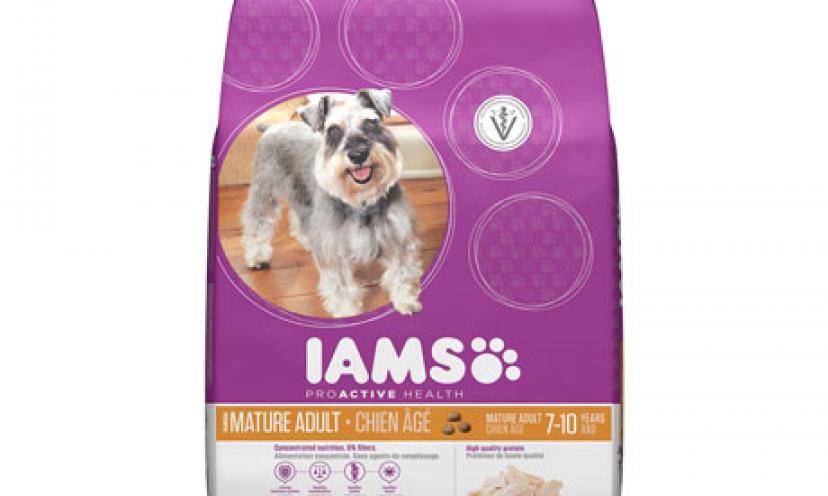 Get $2.00 Off One IAMS Dry Dog Food!