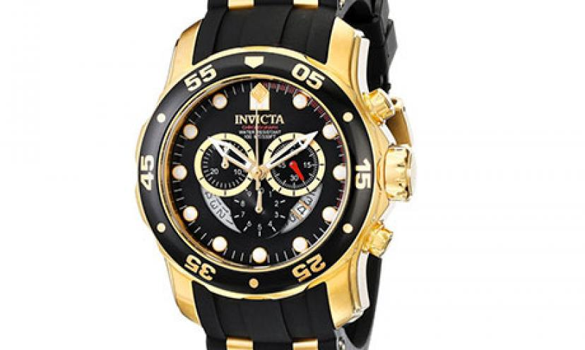 Save Over $600 On The Invicta Men's Pro Diver Collection Watch!